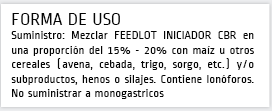 Concentrado Proteico FEED-LOT Iniciador